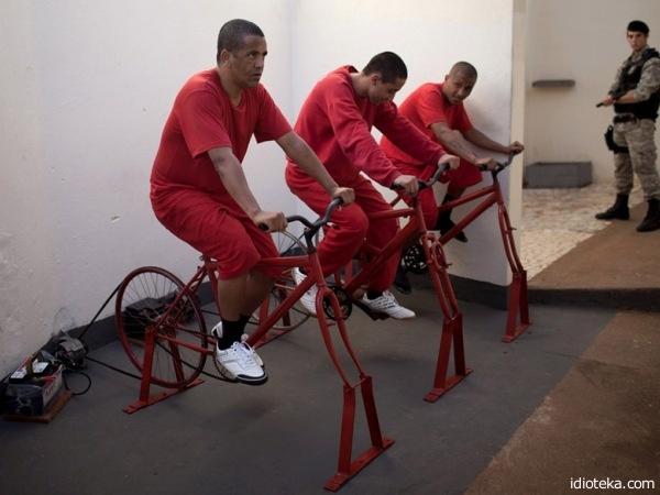 Тюремные велогонщики