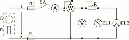 чтение электрической схемы