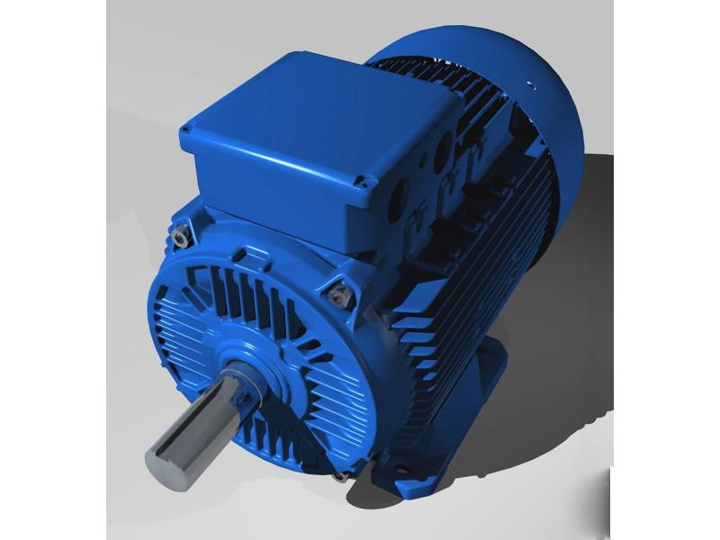 трёхфазный асинхронный электродвигатель