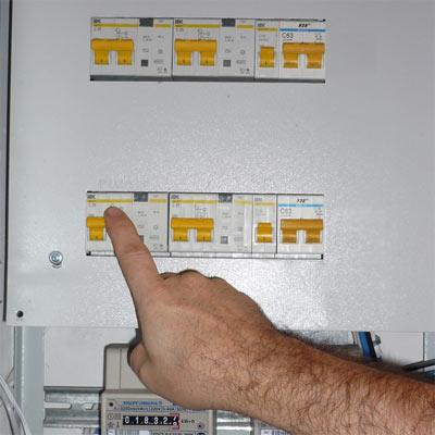 Ремонт выключателя и замена