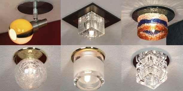 светильник с наружным расположением лампочки