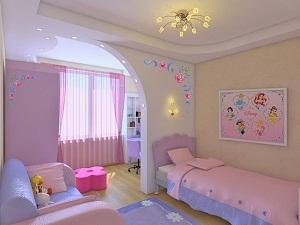 Правильное освещение в детской комнате