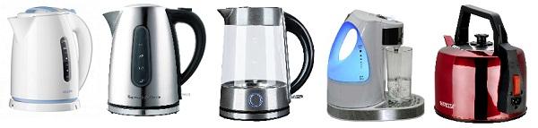 Нагреватели электрических чайников