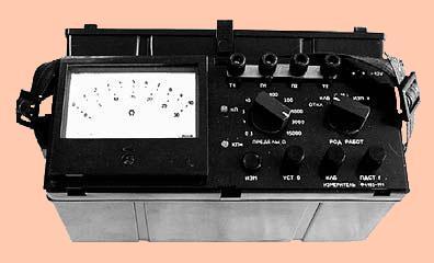 измеритель сопротивления Ф4103-М1