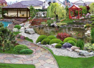 Ландшафтный дизайн прекрасного качества