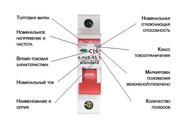 Виды и типы автоматических выключателей