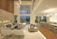 многоуровневое освещение квартиры