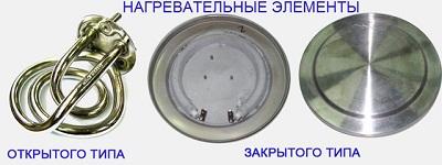 Устройство электрического чайника