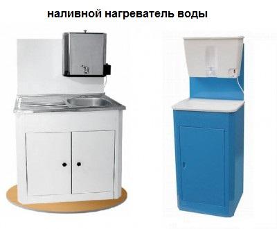 наливной водонагреватель