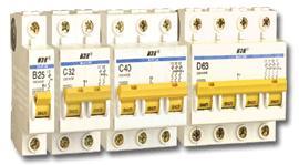 полюса на автоматических выключателях
