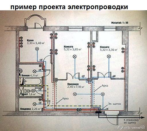 Нужно ли делать проект электропроводки в квартире