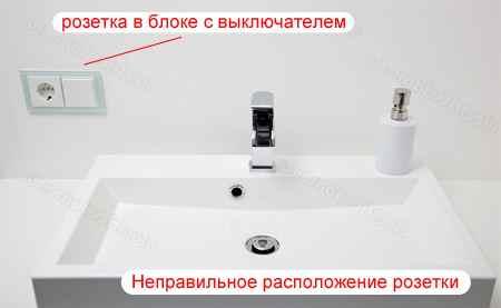 розетки для ванной