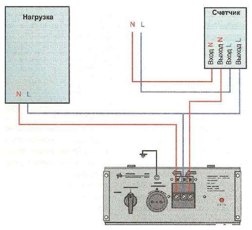 схема подключения стабилизатора напряжения