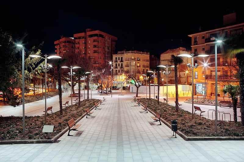 Полноценное освещение улицы на светодиодной технологии