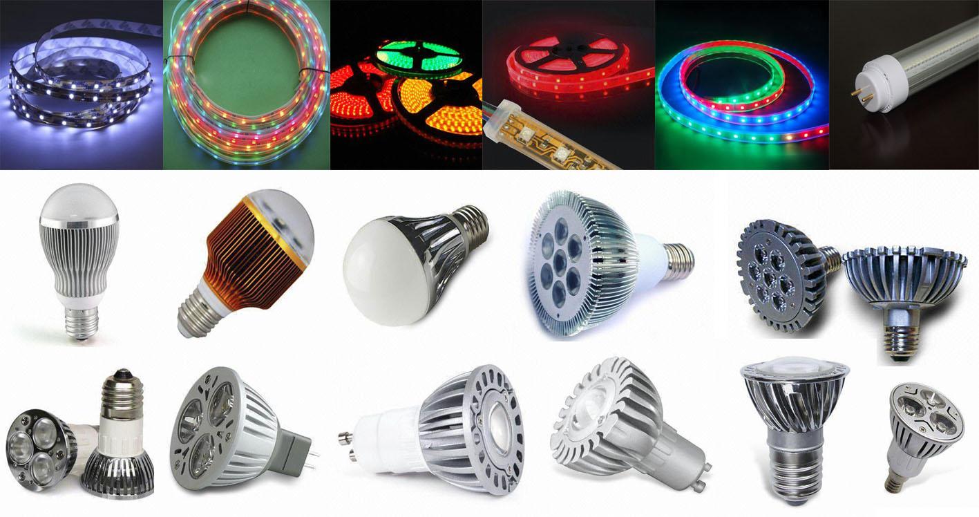 Светодиодные лампы и ленты - пусть жизнь будет ярче