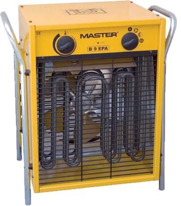 Электрические тепловые вентиляторы, тепловые пушки