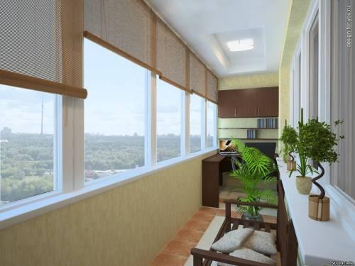 Балкон для уютных вечеров