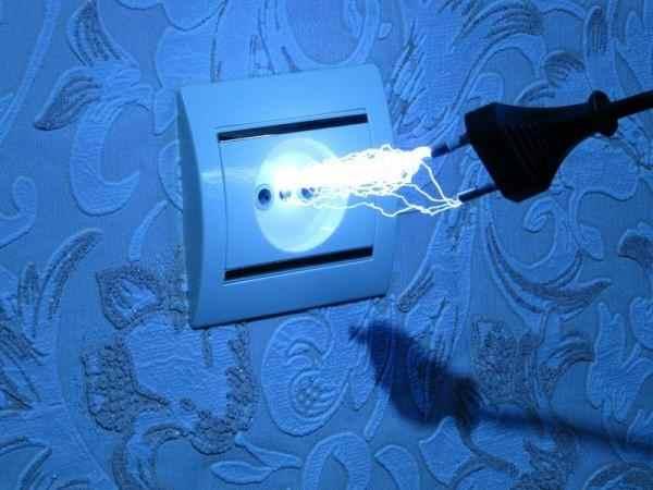 Ток в электрической розетке