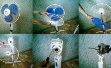 Ремонт бытовых вентиляторов
