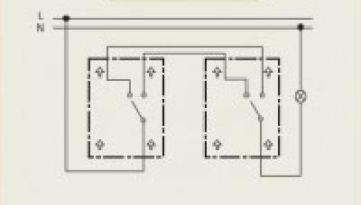 Схемы подключения электрических выключателей
