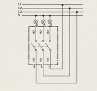 выключатель трехфазный